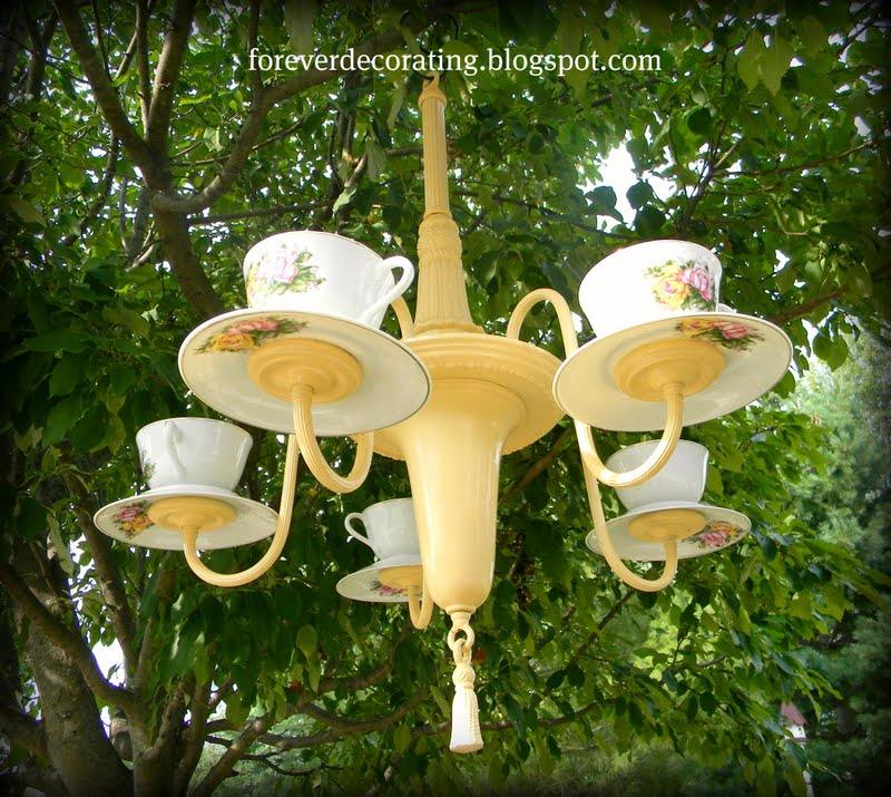 teacup teapot chandelier - Chandeliers - Light