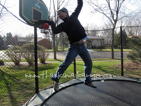 basketball dunks