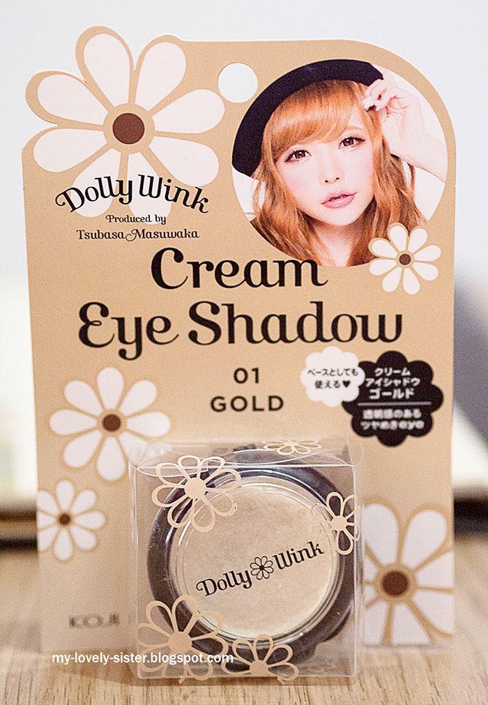 Monday's Love Pick 54 : Dolly Wink Cream Eyeshadow 01 Gold