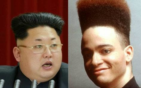Kim Jong-Un Awesome New Hairstyle