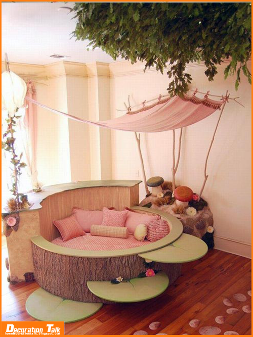 Best decoration ideas for kids room home decoration ideas for Baby girl bedroom decoration