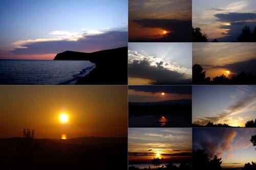 Del crepúsculo al amanecer IX (Amaneceres y Atardeceres)