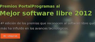 4ª edición de los Premios PortalProgramas al software libre, premios portalprogramas