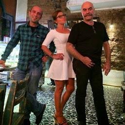 Ezel Akay ve Ersin Kalkan'la birlikte...