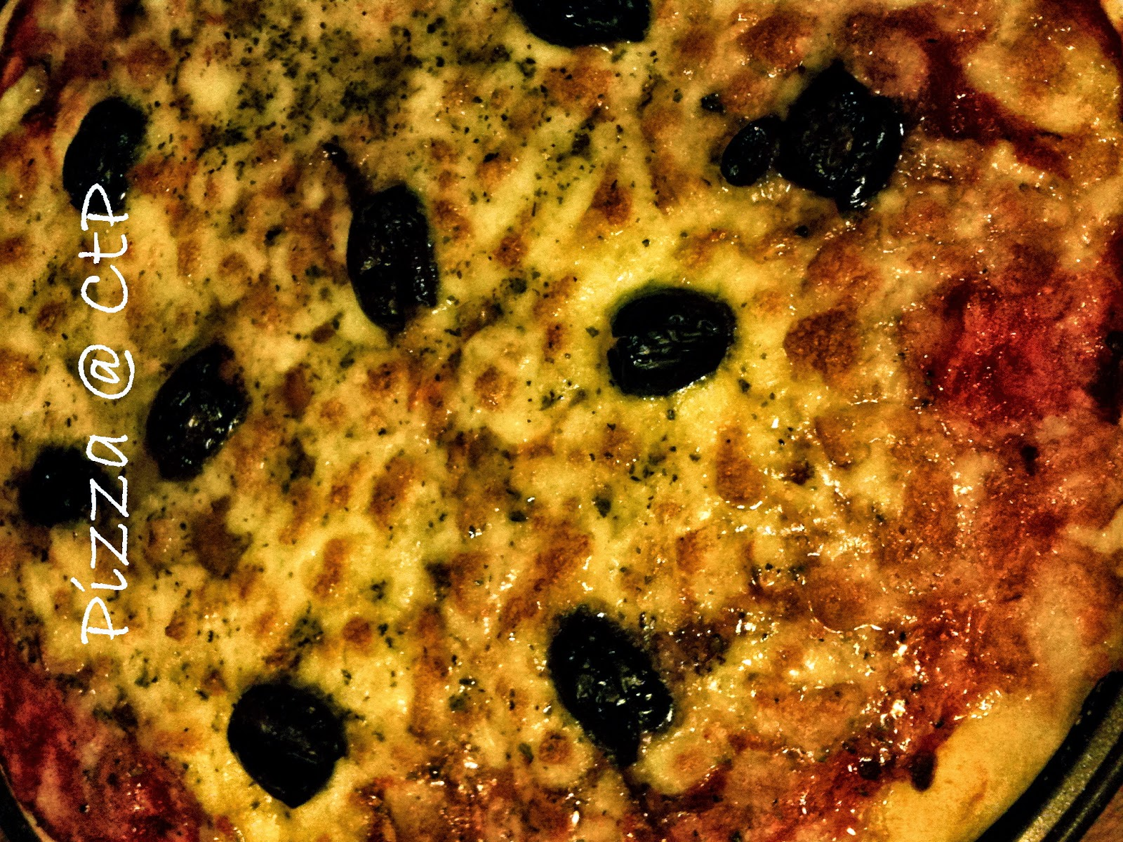 Pizza fatta con lievito madre delle Sorelle Simili