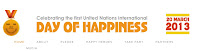 image banner InternationalDay of Happiness