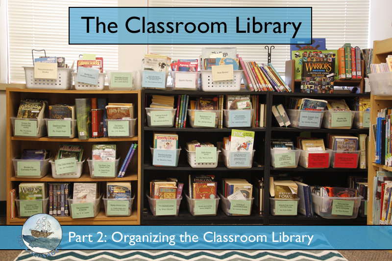 The Classroom Library, part 2: organizing the classroom library | The Logonauts