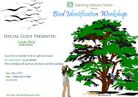 image Gamiing Nature Centre Bird Identification Workshop Flyer