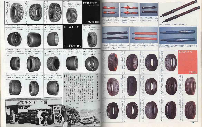 broszura, tuning, japońskie, JDM, oryginalne, opony, zawieszenie