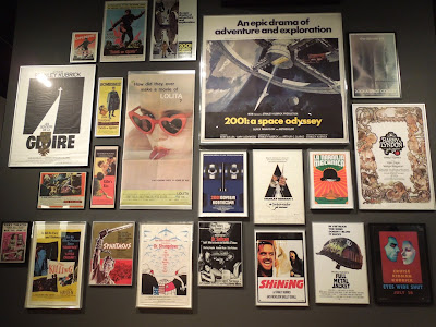 Stanley Kubrick movie posters LACMA
