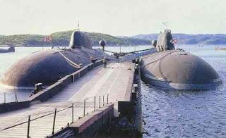 Akula II Class – Soviet Union,Data 7 Kapal Selam Paling Canggih Di Dunia