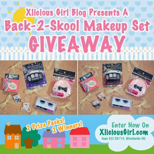 Back-2-Skool Makeup Set Giveaway (Ends 2/25)