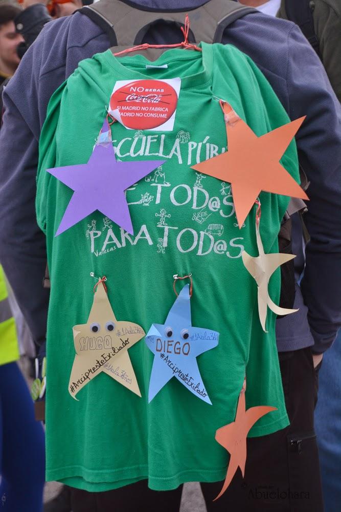 La Dignidad ha cruzado Leganés. Marchas29NOV