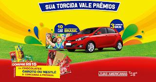 """Promoção  """"Festival do Torcedor Lojas Americanas"""""""