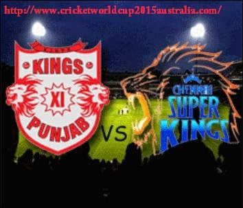 ipl t20 2015 live streaming csk vs kxip