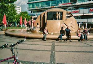 2010.9,柏林,欧洲广场。