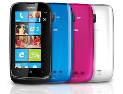 Spesifikasi dan Harga Nokia Lumia 610