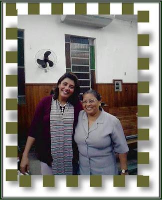 Miss. Profª Paulina Faria e Eu!