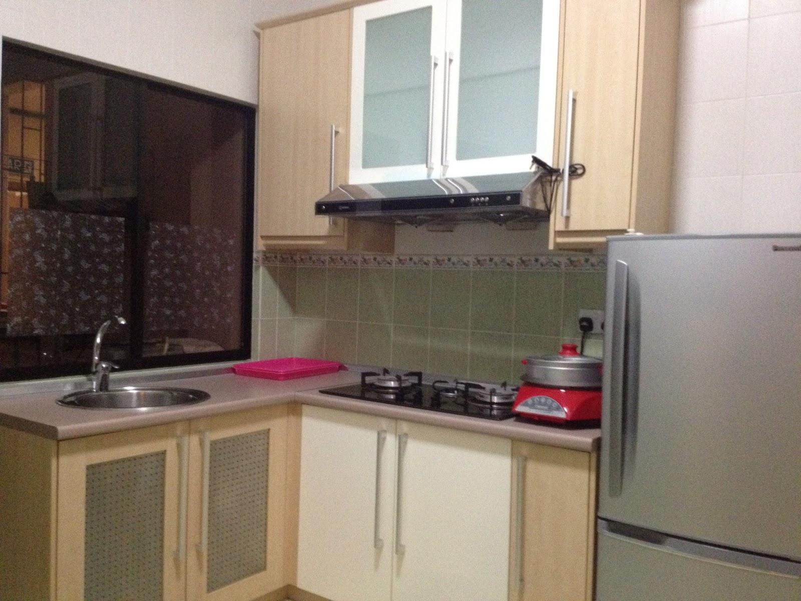 Qq boutique service apartment bali suite pool view 3 bedrooms apartment - Bank kitchenette ...