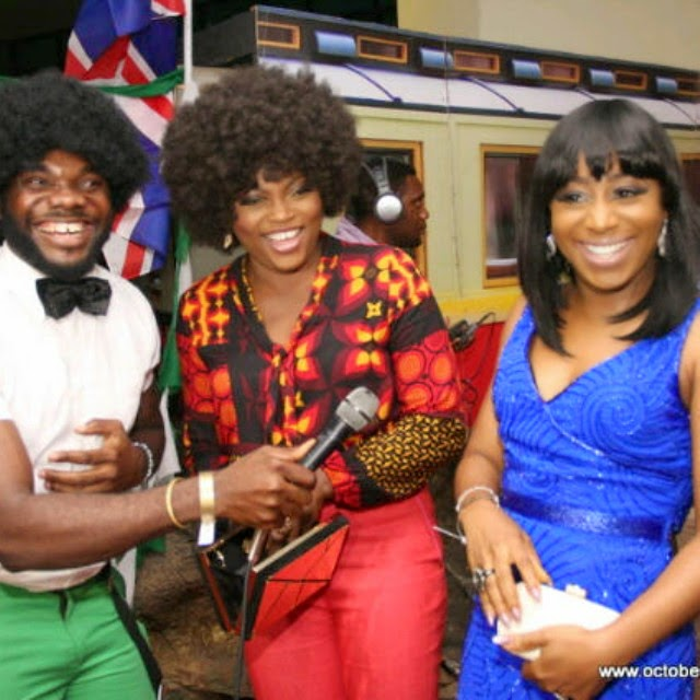 Photos from the old-school-themed Lagos premiere of October 1 movie
