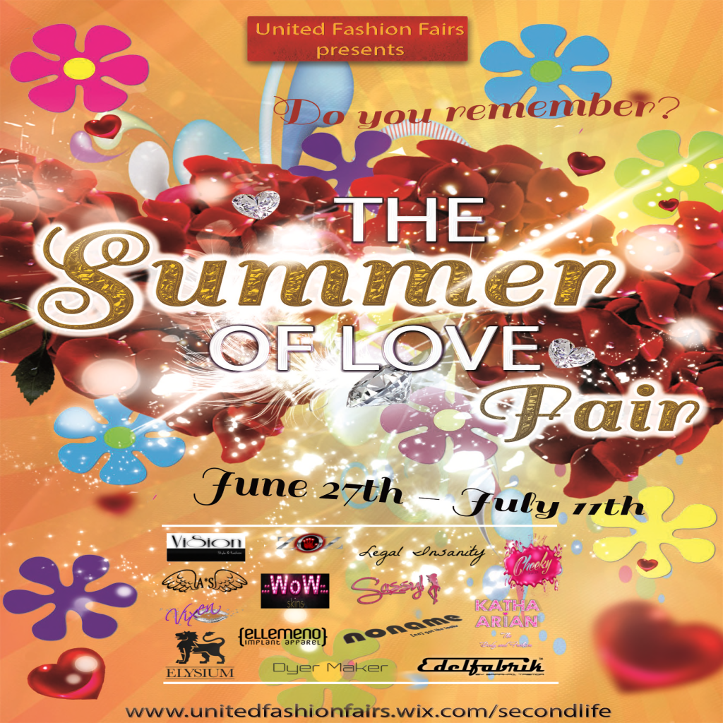 Summer of love fair 27 to july 11