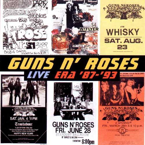 rock and metal society guns n roses 1999 live era