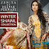 Zeniya By Deepak Perwani Winter Shawl Collection 2015-2016