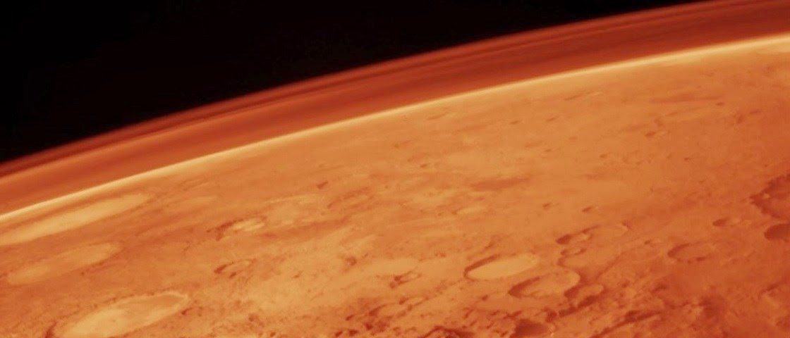 Cientistas encontram indícios de água em Marte