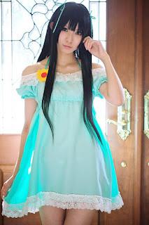 K-On! Akiyama Mio Cosplay by Rinami