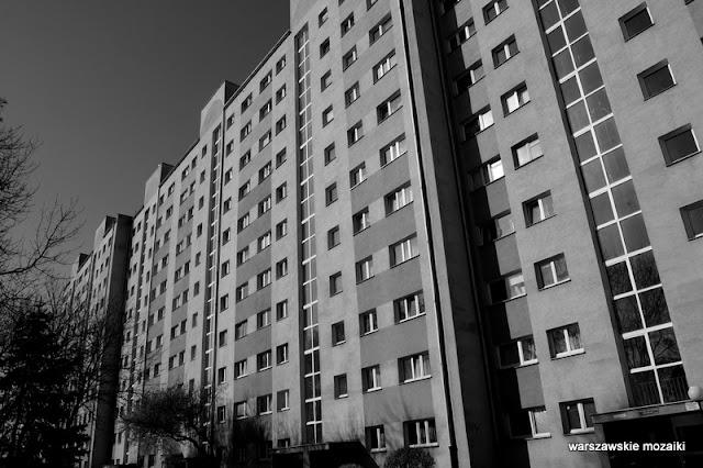 Wola Warszawa warsaw bloki blokowisko b&w cz-b