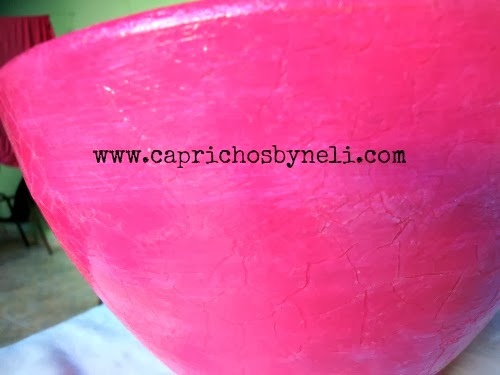 Craquelê, Pintura em vaso, vaso de cerâmica
