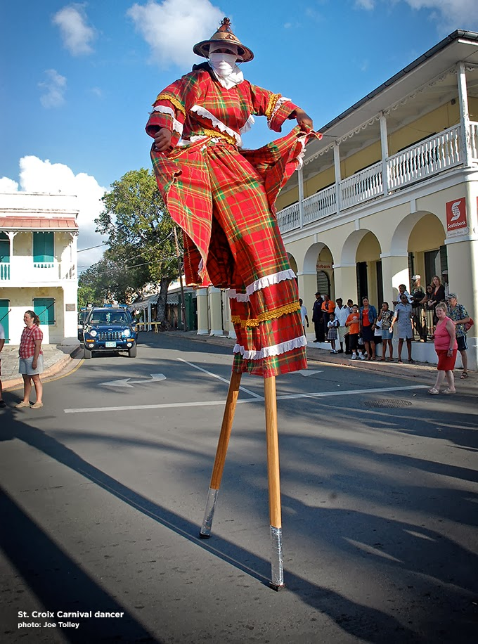 St. Croix Carnival Dancer. Copyright Joe Tolley 2014 / TravelBoldly.com