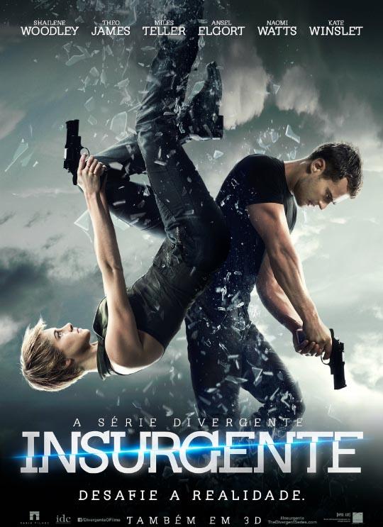 A Série Divergente: Insurgente Torrent - Blu-ray Rip 1080p 3D Dual Áudio (2015)