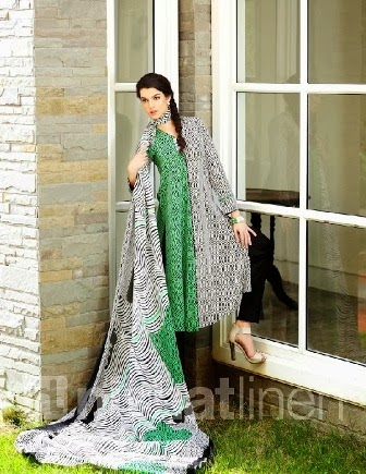 Pakistani Brand New Lawn Designs