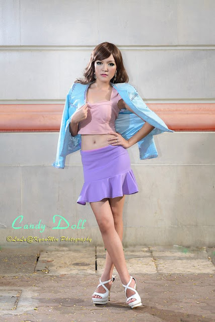 cute model girl candy doll thun thitsar zaw