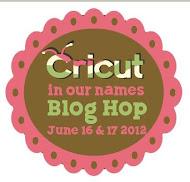 Cricut Blog Hop