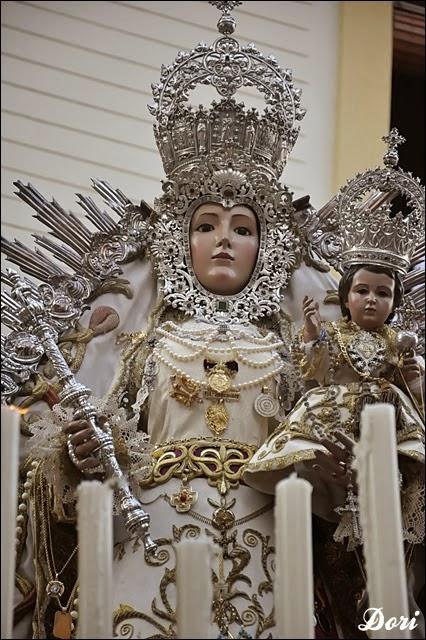GLORIAS DE SEVILLA 2014: VIRGEN DE ARACELI