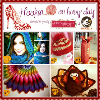 http://mymerrymessylife.com/2013/11/hookin-on-hump-day-59-link-party-for-the-fiber-arts.html