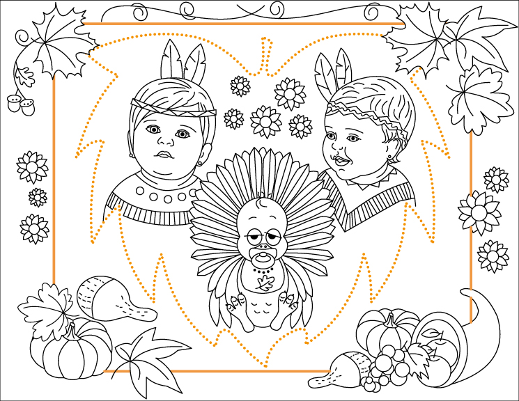 Image Result For Thanksgiving Dance Coloring