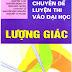 Sách Chuyên đề Luyện Thi Vào Đại Học phần Lượng Giác - Trần Văn Hạo