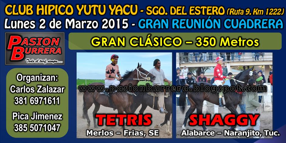 YUTU YACU - LUNES 2 - 350 METROS