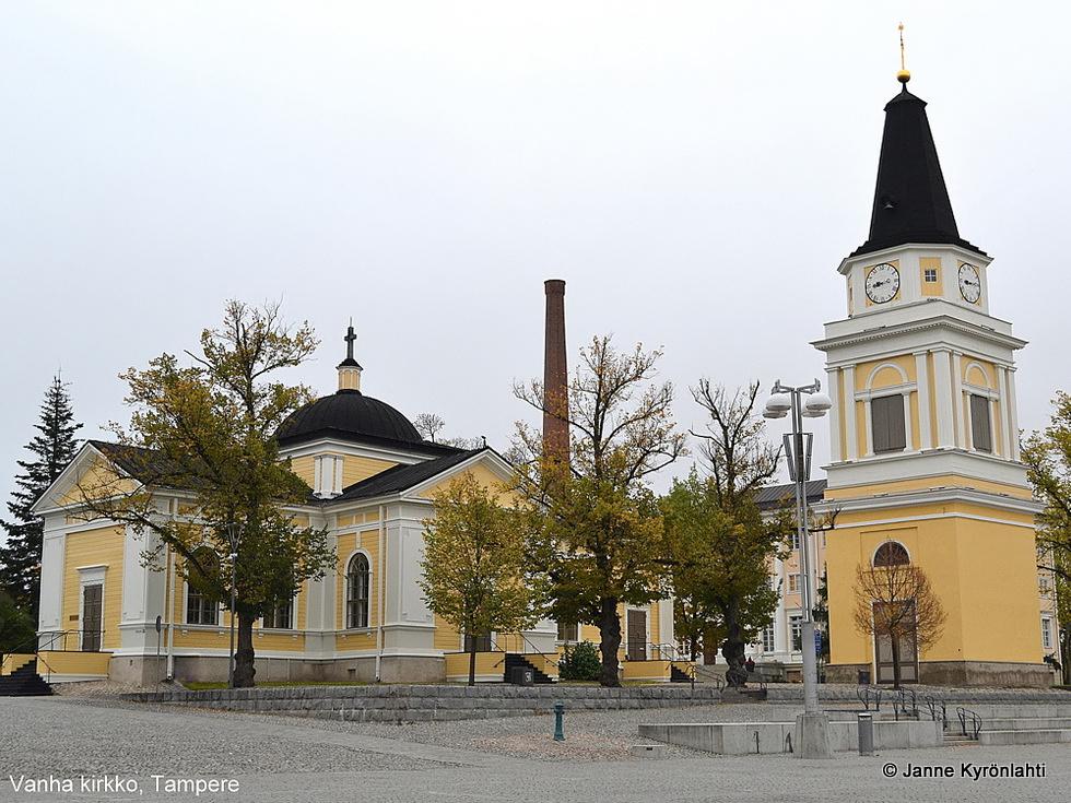 JPK-kuvablogi: Tampereen vanha kirkko