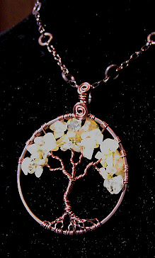 Tree of life with citrine