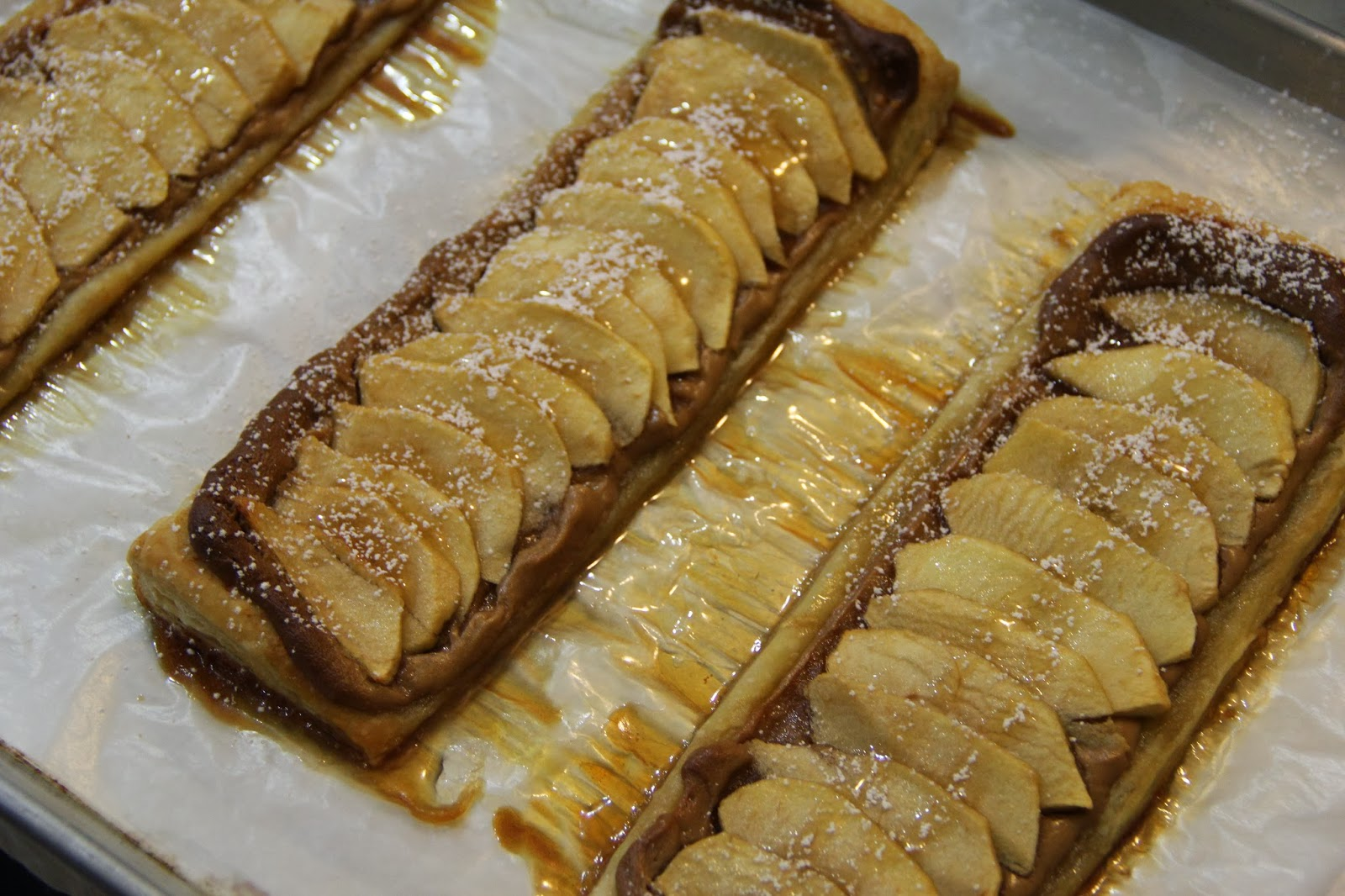 Coast With Me: Honeyed Apple Peanut Butter Tart