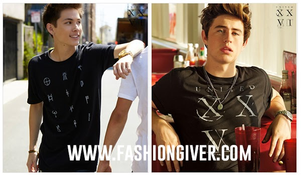 Vine stars Hayes Grier, Nash Grier, Cameron Dallas and Carter Reynolds