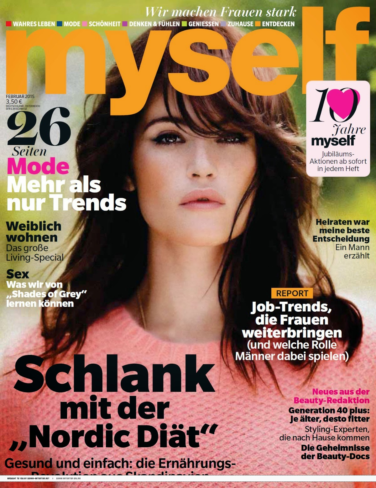Actress: Gemma Arterton - Myself ,Germany, February 2015