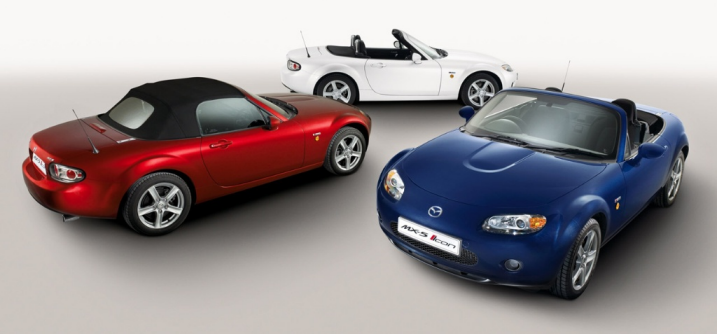 Roadster Blog Mazda Mx 5 Icon