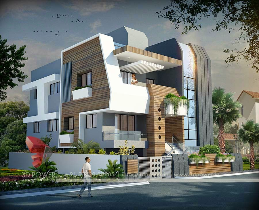 new home design modern contemporary exterior - Contemporary Modern Home Design