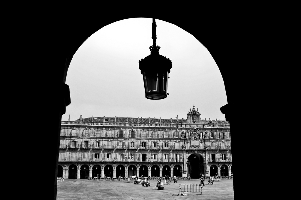 Plaza Mayor (Salamanca, España), by Guillermo Aldaya / AldayaPhoto
