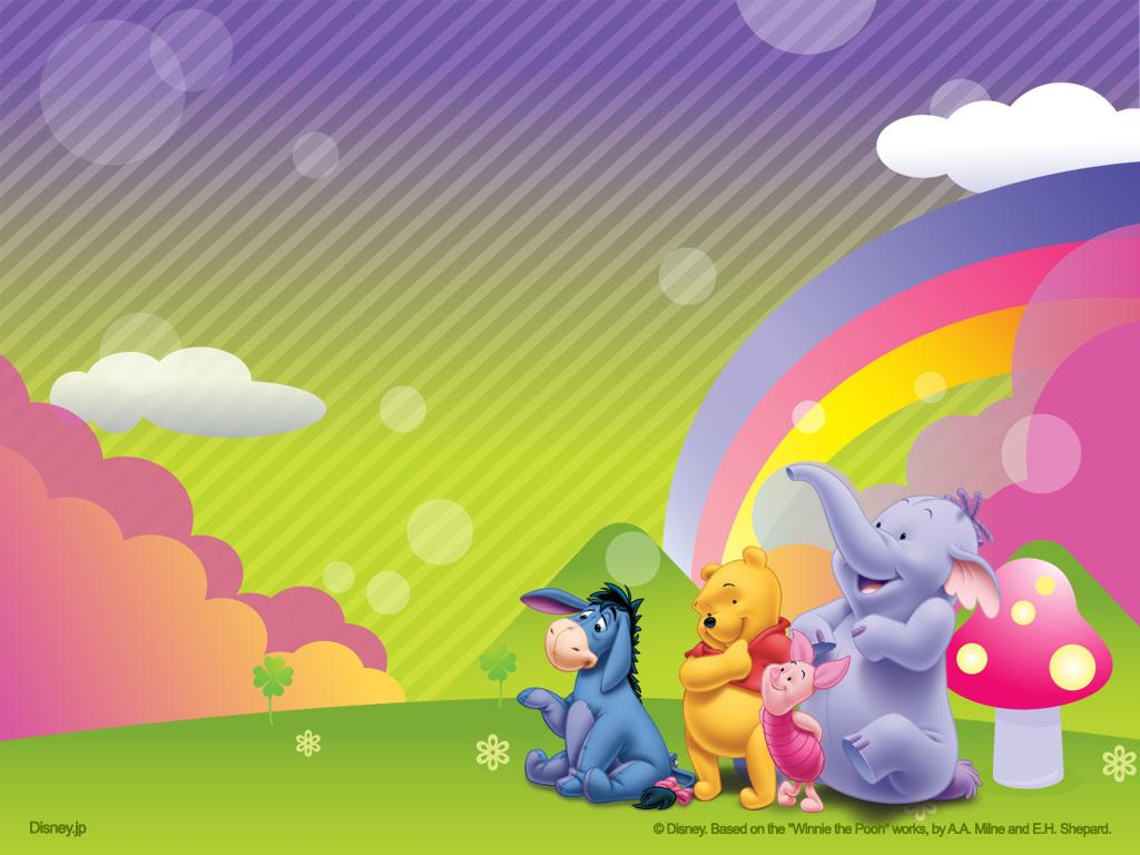 Winnie the Pooh Birthday Wallpaper